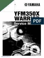 1990 2004.Yamaha.yfm350X.warrior.factory.service.manual