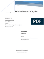 Daimler Crysler Merger