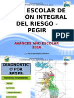 PEGIR- Informe Breve de Avances