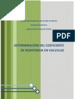 Determinacion Del Coeficiente de Resiste
