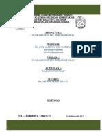 Mapa Conceptual Fundamentos Del Derecho Fiscal