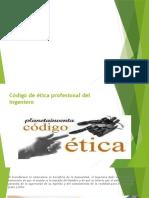 Código de Ética Profesional Del Ingeniero1