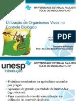Utilização de Organismos Vivos No Controle Biológico