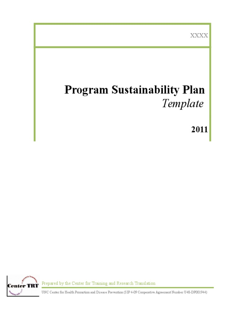 Susttainability plan template ctrt sustainability cognition pronofoot35fo Gallery