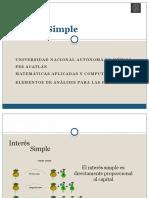 1.- Interes Simple Introducción