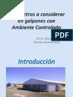 Parametros a Considerar en Galpones Con Ambiente Controlado - Dr. Nicolás Gambardella