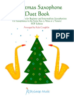 Christmas Saxophone Duet Book Coughlin Digital
