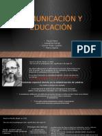 4 autores Comunicación Educativa