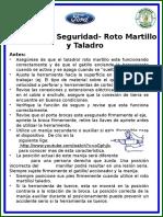 Roto Martillos y Taladros