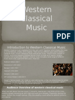 western classical music overview