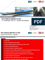 20150228_GCC-KSA - WS 2 - System Parameters-Architecture and Facilities