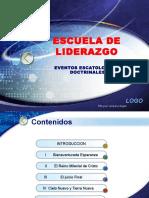 Presentacion Eventos Escatologicos Doctrinales