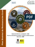 Plan Distrital Resturacion Ecologica