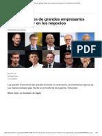 100 Lecciones de Grandes Líderes Para Triunfar en Los Negocios _ Foro Económico Mundial