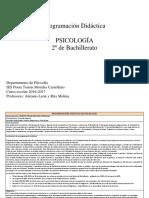 Programación Didáctica Modelo Proideac Psicología 16-17
