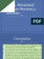 Moral, Moralidad, Normas Morales y sociales 1.pptx