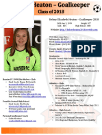 kelsey heaton player profile 2017