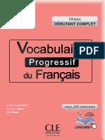 Vocabulaire Progressif Du Francais Debutant Complet 2015