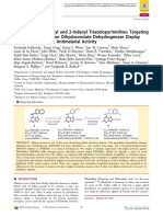 Tetrahydro-2-Naphthyl and 2‑Indanyl Triazolopyrimidines Targeting