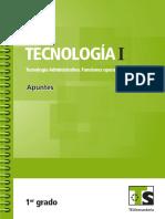 Tecnologia 1 Administración Telesecundaria