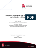1 Temporary Employment Job Satisfaction and Subjective Well Being