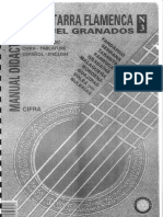 Manual Didactico de La Guitarra Flamenca Vol.3 Manuel Granados
