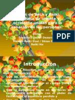 Flores de Bach y Reiki, sabiduría de.pptx