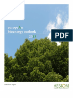 Aebiom European Bioenergy Outlook 2013