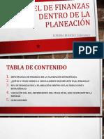 Finanzas en La Planeación Estratégica (2)