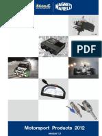 Magneti Marelli Catalogue2012 0