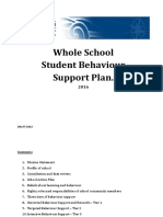 St Brendan's Moorooka Whole School Behaviour Plan