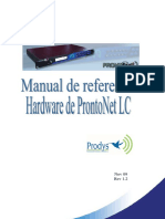 Manual de Referencia Hardware ProntonetLC Rev1.2