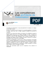 Archinfo 2017 S1 Intro M2 Competences