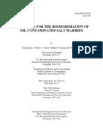 Bio Remediation in Salt Marshes