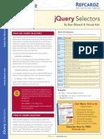 DZone Refcardz JQuery Selectors