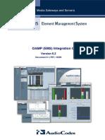 LTRT-19209 OAMP Integration Guide v6.2