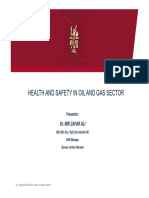 Health Safety in Oil Gas Sector