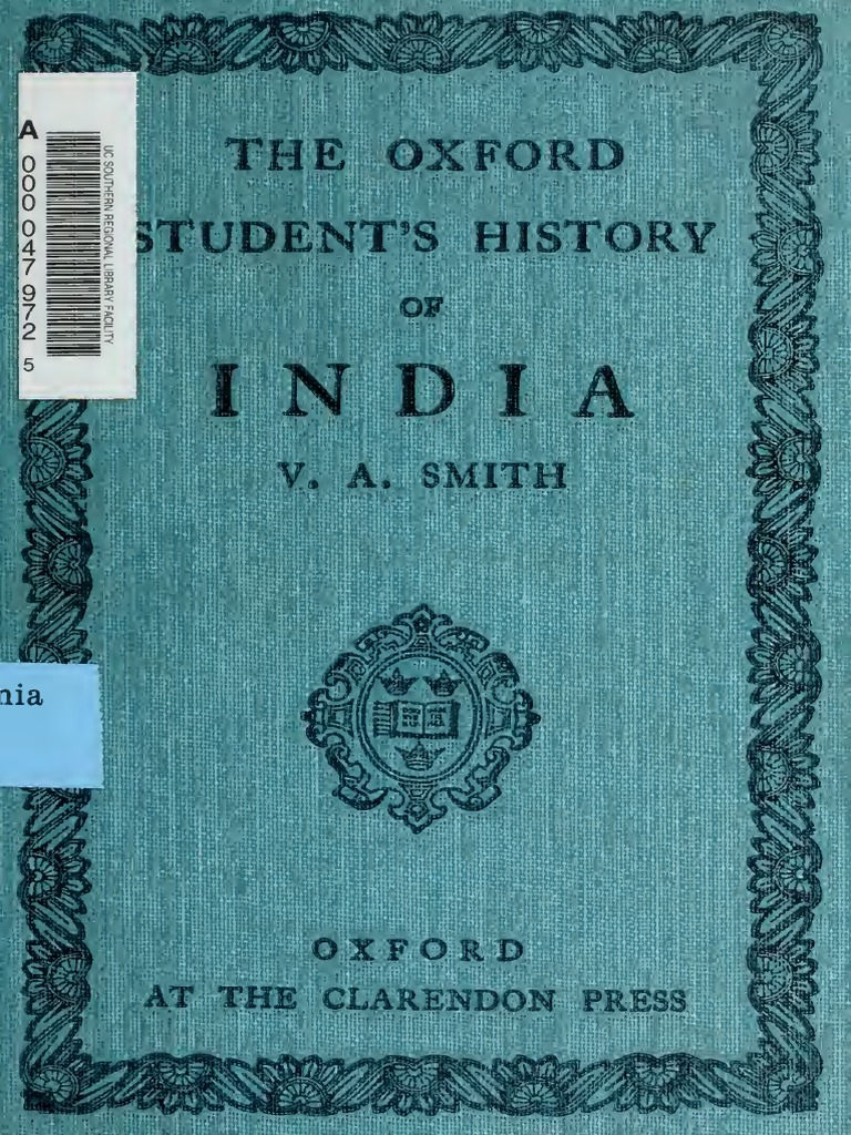 The Oxford Student's History of India, 1921 | Mughal Empire