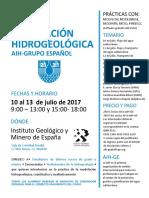 II Curso Modelación Hidrogéológica