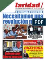 CLARIDAD, con la verdad desde el pueblo. Periódico del Sindicato Unitario de Trabajadores del Periodismo y la Comunicación Social del Perú (SUTPECOS)