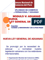 Nueva Ley General de Aduanas