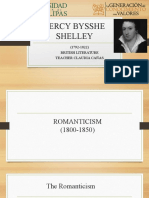 Percy Bysshe Shelley ppt