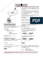 ARITMETICA - Conjuntos, Numeros Naturales, Numeros Racionales y Numeros Reales