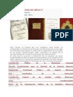 Constituciones de México