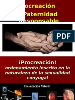 Procreacion y Paternidad Responsable