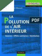 La Pollution de l'Air Interieur