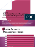 Basic HR for Business Starters (v1.0)