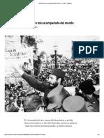 El hombre más acompañado del mundo – Fidel Castro
