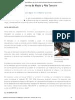 Análisis de Interruptores de Media y Alta Tensión _ Sector Electricidad _ Profesionales en Ingeniería Eléctrica