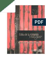 Jaime Osorio Critica de La Economia Vulgar